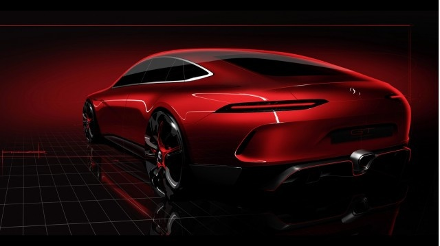 Mercedes-AMG sedan moi anh 1
