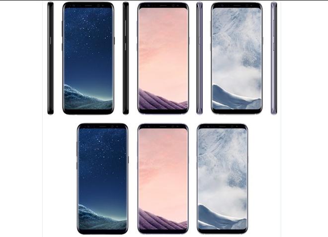 Galaxy S8 lo 4 mau doc kem gia ban 850 USD hinh anh 1