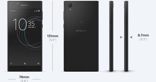 Sony bat ngo gioi thieu Xperia L1 cau hinh pho thong hinh anh 1