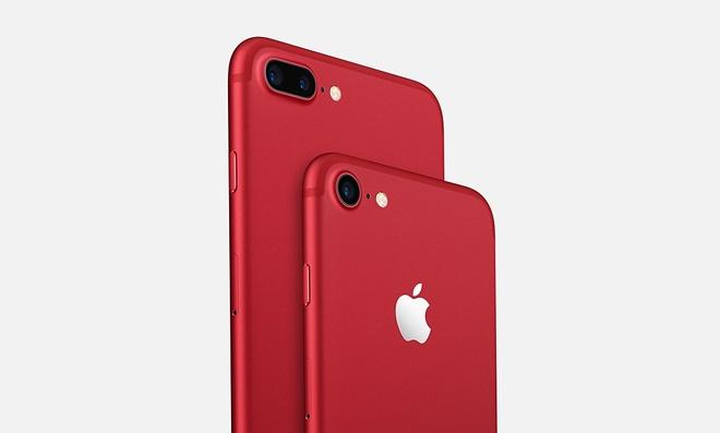 Apple ra mat iPhone 7 mau do anh 2