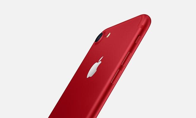 Apple ra mat iPhone 7 mau do anh 3