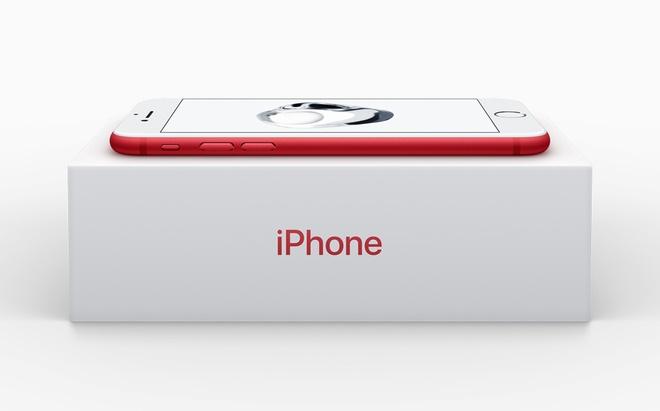 Apple ra mat iPhone 7 mau do anh 4