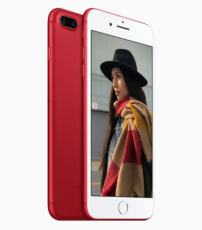 Apple ra mat iPhone 7 mau do anh 1