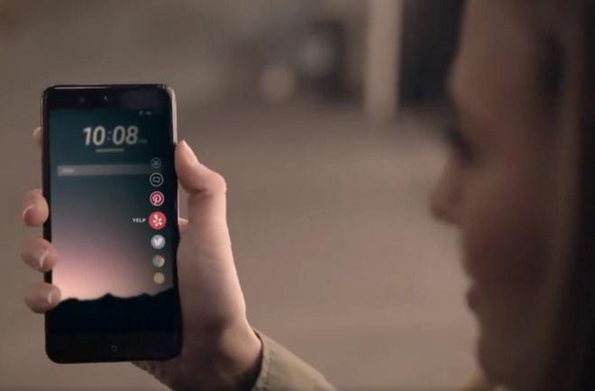 HTC U voi man hinh 5,5 inch, Sense 9 sap ra mat hinh anh 1