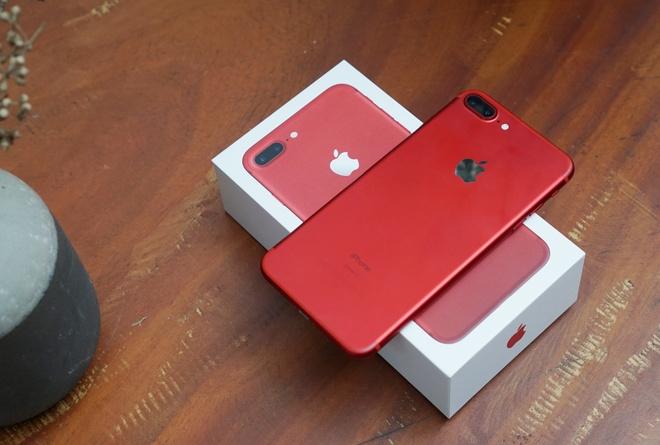 iPhone 7 mau do khong hut khach tai Viet Nam hinh anh 1