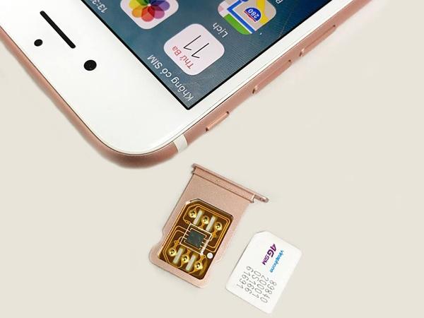 Xuat hien loai SIM ghep bien iPhone lock thanh quoc te o VN hinh anh