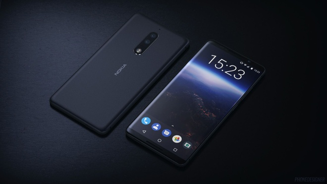 Nokia 9 se co thiet ke dep hon ca Galaxy S8? hinh anh 2