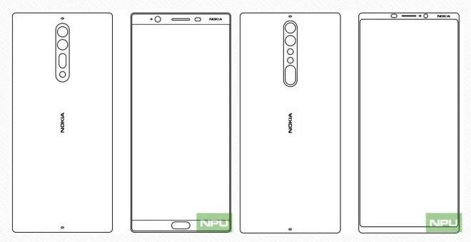 Nokia 9 se co thiet ke dep hon ca Galaxy S8? hinh anh 1