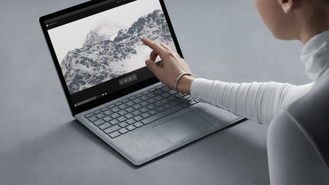 Microsoft ra mat Surface Laptop gia 999 USD doi dau MacBook hinh anh 1