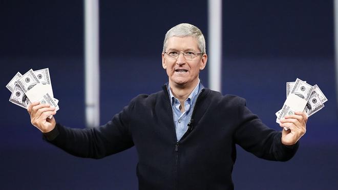 Apple khong biet tieu tien anh 1