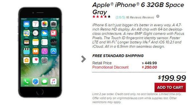 iPhone SE, iPhone 6 giam gia con 159 va 200 USD tai My hinh anh 1