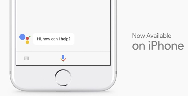 Google Assistant co mat tren iPhone hinh anh 1