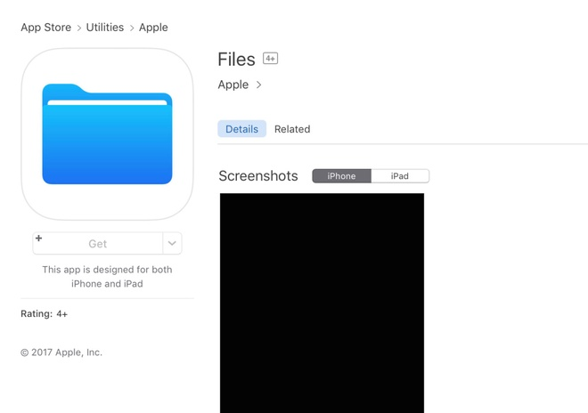 Ung dung quan ly file cho iOS 11 xuat hien tren App Store hinh anh