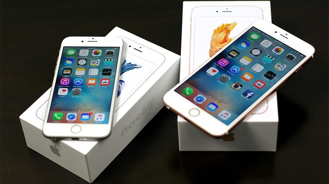 iPhone 6S Plus 32 GB chinh hang bat ngo len ke, gia bang 6S hinh