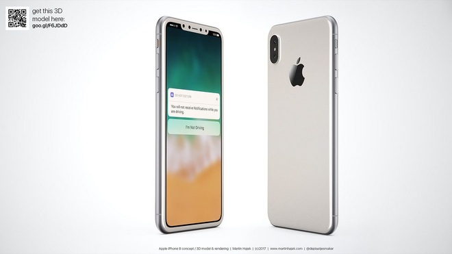 iPhone 8 co vien mong nhat tu truoc den nay, loai bo Touch ID? hinh anh 2
