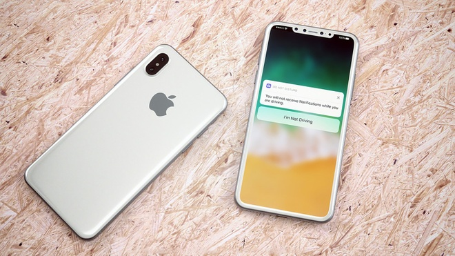 iPhone 8 co vien mong nhat tu truoc den nay, loai bo Touch ID? hinh anh 1