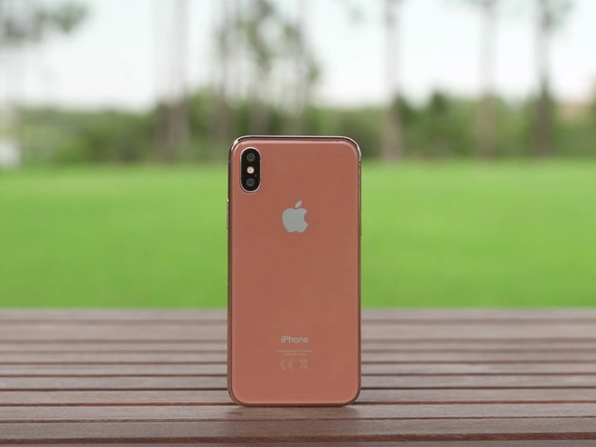 iPhone 8 mau moi co ten goi Blush Gold hinh anh