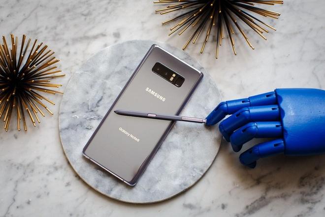 Galaxy Note 8 ra mat voi camera kep, man hinh lon chua tung co hinh anh
