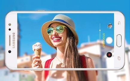 Samsung sap tung Galaxy J7+ chup xoa phong nhu Note 8 hinh anh