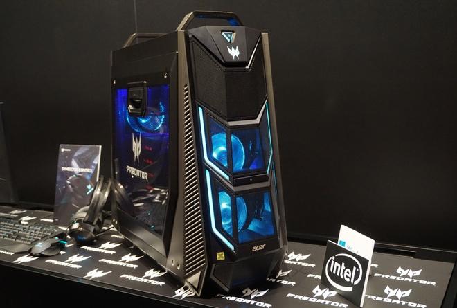 Desktop choi game voi chip core i9 18 nhan tu Acer hinh anh