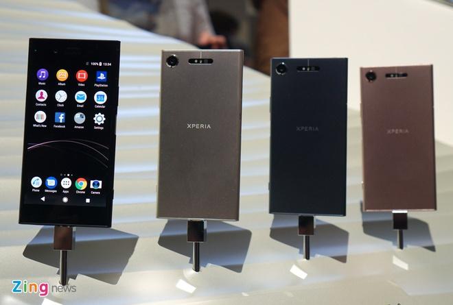 Sony ra mat Xperia XZ1, XZ Compact voi kha nang chup hinh 3D hinh anh 2