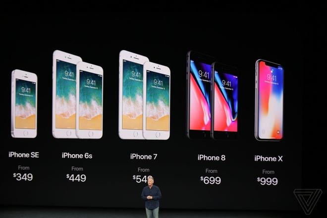 iPhone 8, 8 Plus va iPhone X trinh lang, gia len toi 999 USD hinh anh 38