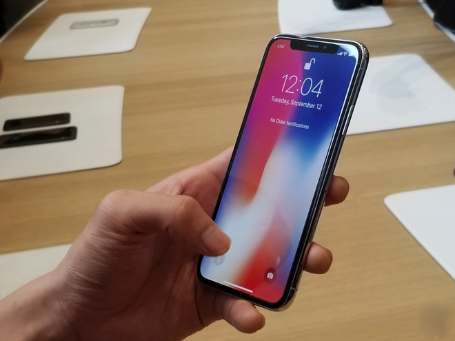 Anh thuc te iPhone X: Smartphone cua tuong lai hinh anh