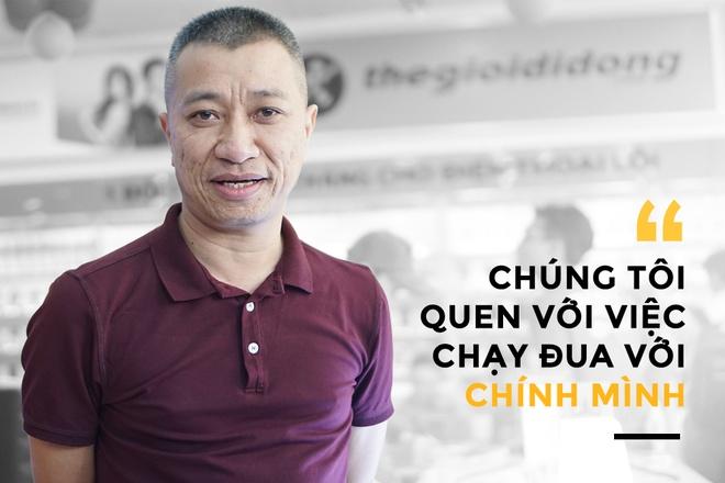 CEO The Gioi Di Dong: 'Chung toi chi chay dua voi chinh minh' hinh anh