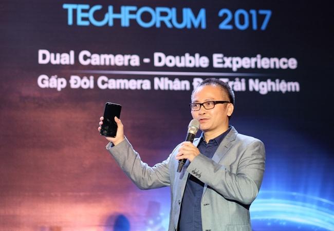 Mobiistar ra mat 2 smartphone tam trung nhan manh camera hinh anh