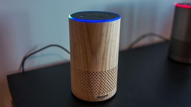 Kết quả hình ảnh cho Loa thông minh Amazon Echo