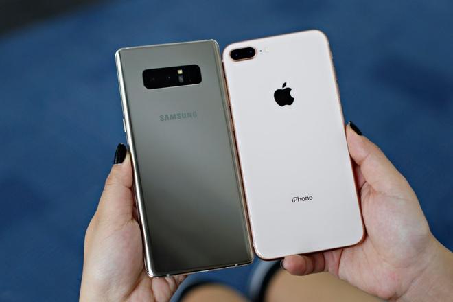 DxOMark: Camera Galaxy Note 8 sanh ngang iPhone 8 Plus hinh anh