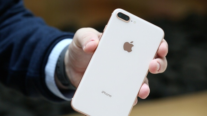 'iPhone 8 Plus tot hon may anh chuyen nghiep' hinh anh