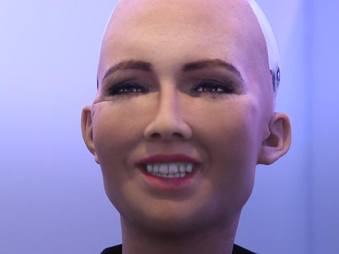 Sophia: cong dan robot dau tien tren the gioi hinh anh