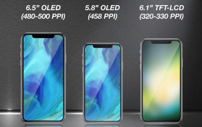 Se co 3 chiec iPhone X ra mat nam 2018 hinh anh 1
