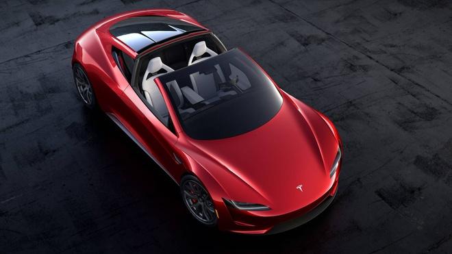 Tesla gioi thieu chiec Roadster moi hinh anh
