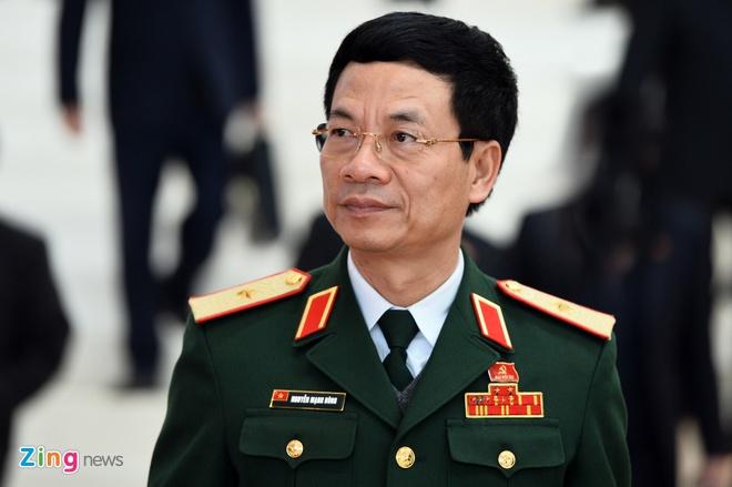 Ong Nguyen Manh Hung duoc bo nhiem lam Chu tich HDQT Viettel hinh anh 1