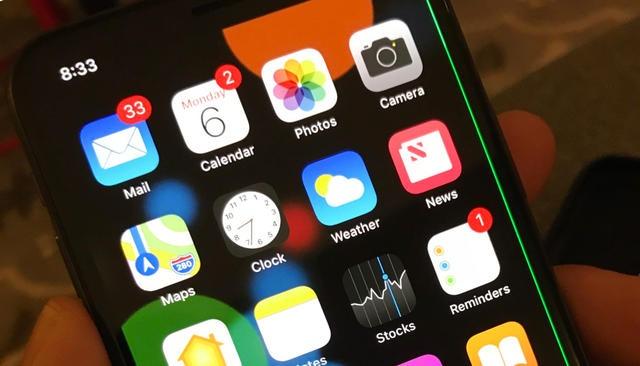 iPhone X bi loi soc xanh man hinh hinh anh