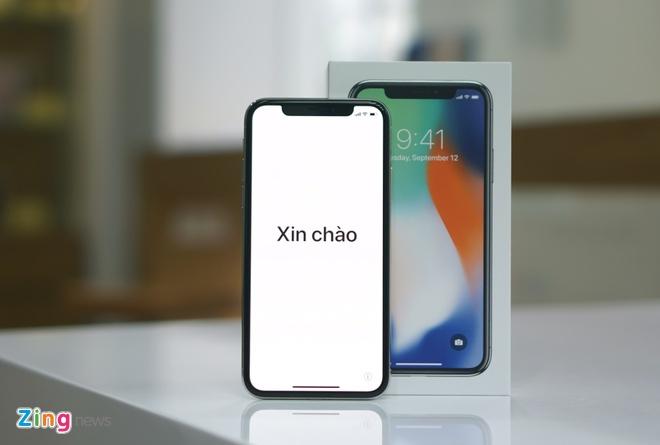 Mo hop iPhone X chinh hang, MobiFone ban gia tu 15 trieu hinh anh
