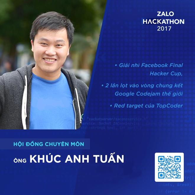 Hoi dong chuyen mon toan 'sieu nhan' cua Zalo Hackathon hinh anh 1