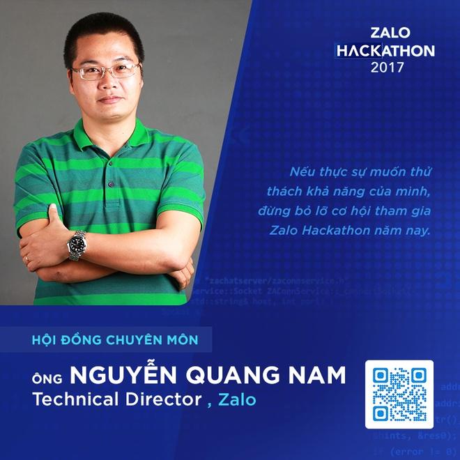 Hoi dong chuyen mon toan 'sieu nhan' cua Zalo Hackathon hinh anh 4