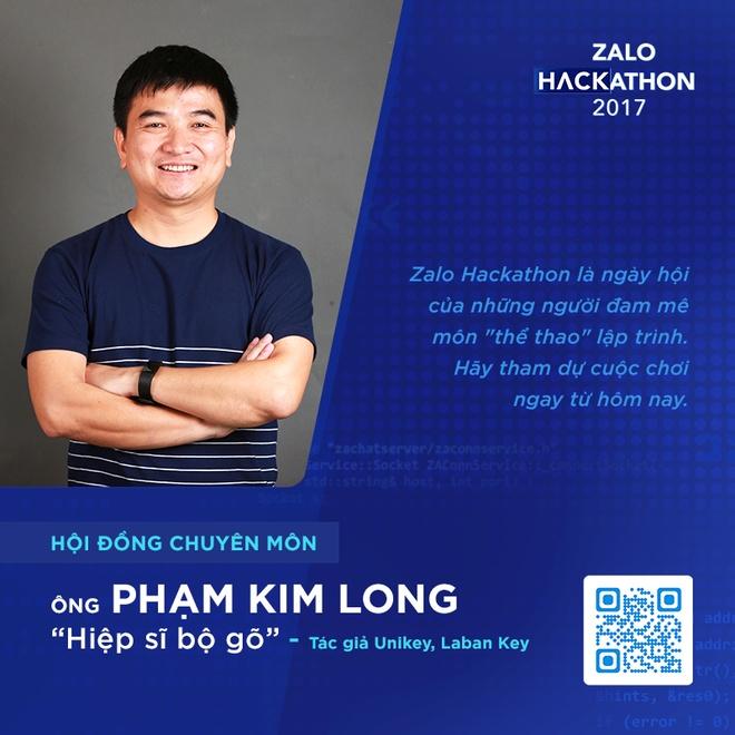 Hoi dong chuyen mon toan 'sieu nhan' cua Zalo Hackathon hinh anh 2