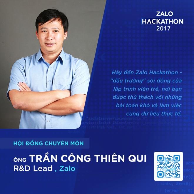 Hoi dong chuyen mon toan 'sieu nhan' cua Zalo Hackathon hinh anh 5