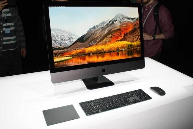 Thu nghiem iMac Pro hinh anh