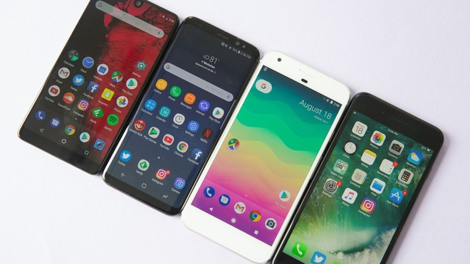 Lo dien toan bo smartphone Android cao cap ra mat 2018 hinh anh