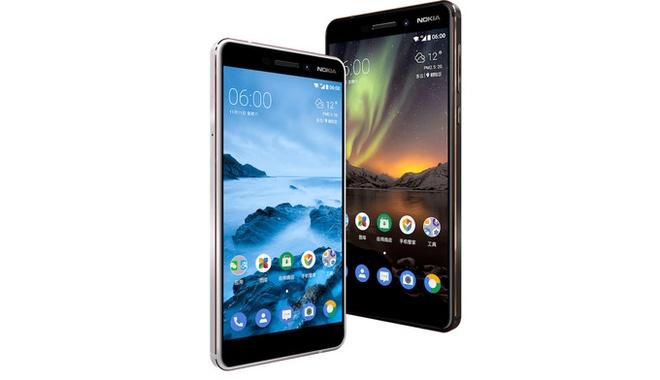 Nokia 6 2018 ra mat voi cau hinh manh hon, gia 230 USD hinh anh 1