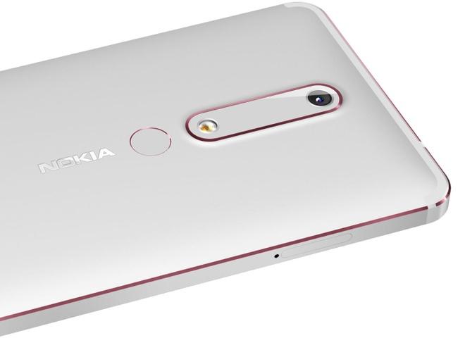 Nokia 6 2018 ra mat voi cau hinh manh hon, gia 230 USD hinh anh 2