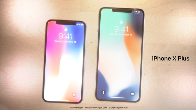Ban dung iPhone X Plus man hinh 6,5 inch hinh anh