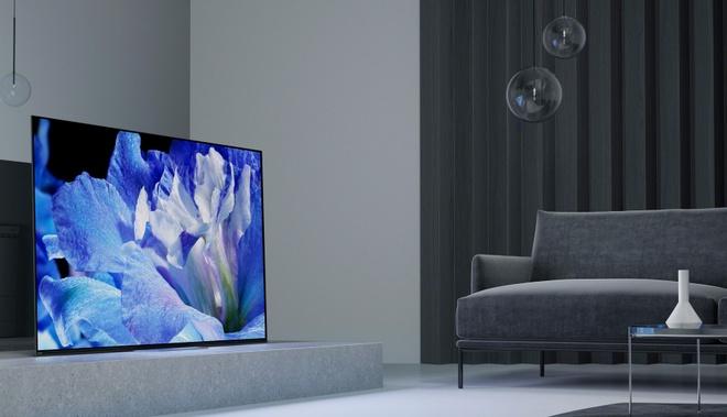 TV OLED 2018 cua Sony anh 1