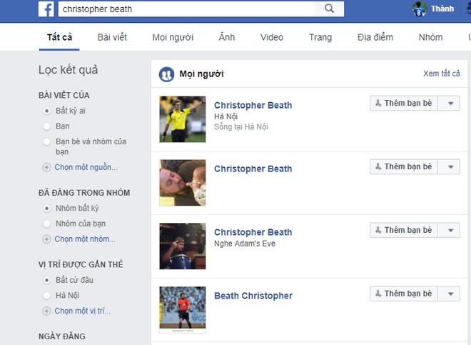 Dan mang lap Facebook trong tai Chris Beath anh 1