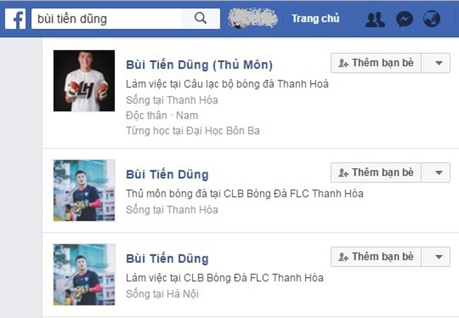 200 tai khoan Facebook gia mao cau thu va HLV U23 Viet Nam hinh anh